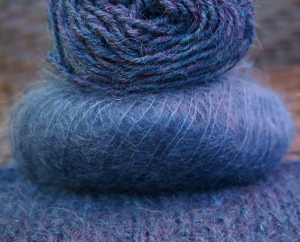 Schul and Berocco Yarn and Swatch
